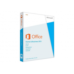 Microsoft Office Home and Business 2013 - Licence - 1 PC - 32/64-bit - Win - français