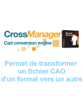 Logiciel Cross Manager Basic - convertisseur fichier CAO