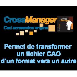 Logiciel Cross Manager Basic - convertisseur fichier CAO
