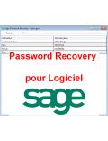 Password Recovery pour Logiciel Sage - Liste des mots de passe SAGE 100 SQL Express ou serveur