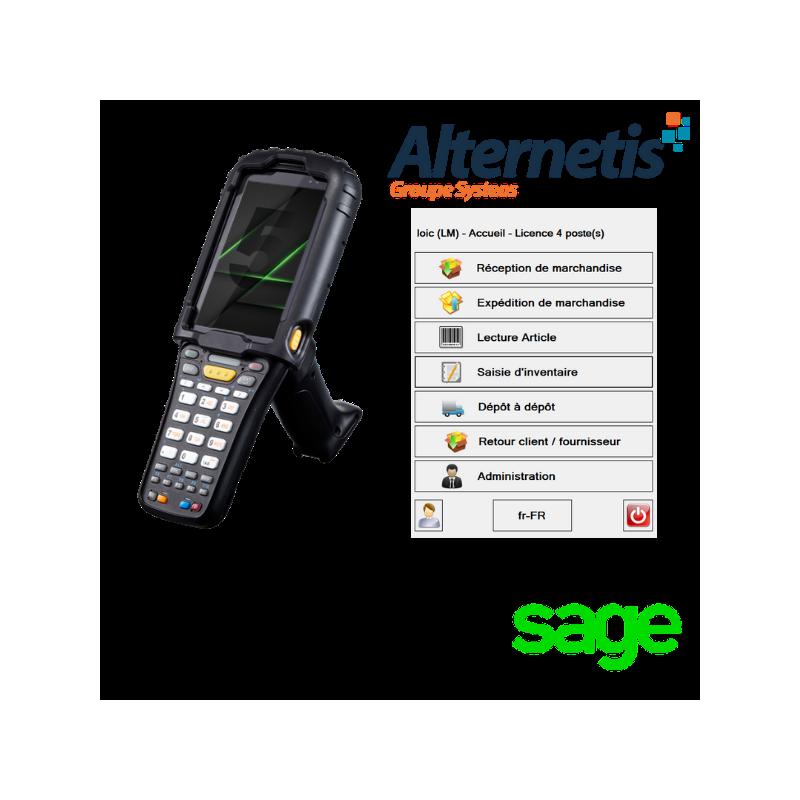Logiciel de gestion d'entrepôt pour Sage 100 cloud