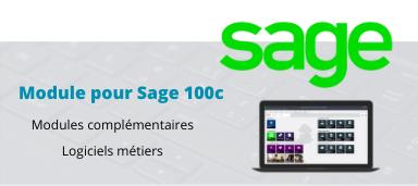 Logiciels Métiers compatibles avec Sage 100c